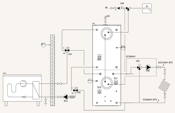 shema-dla-montazha-teploakkumulatora-gtv-teknik-k-teplovomu-nasosu-vozduh-voda